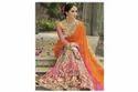 Orange Designer Saree