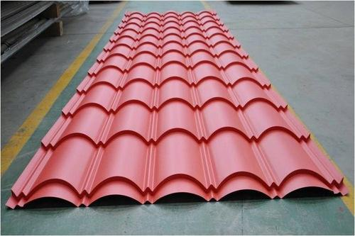 Steel Stainless Steel Tile Roof Sheet Pushpak Infra