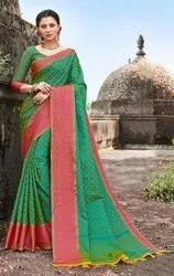 Banarasi Jacquard Weaving Saree ,6.3 mtr