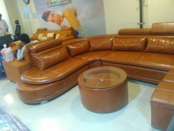 Leather Model Sofa
