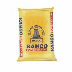OPC (Ordinary Portland Cement) Ramco Super Grade Cement, Packaging Size: 50 Kg