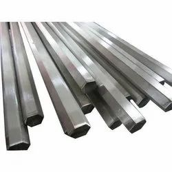 Polished Stainless Steel Hex Bar, Size: 10-20 mm