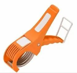 Plastic & Stainless Steel Vegetable Cutter