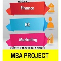 MBA Project Report Writing Consultancy Service