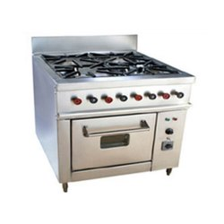 Stainless Steel Four Burner Gas Stove