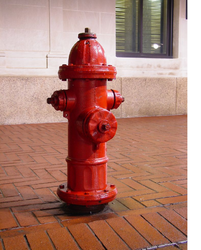 Fiber Hydrant Stand Post Type