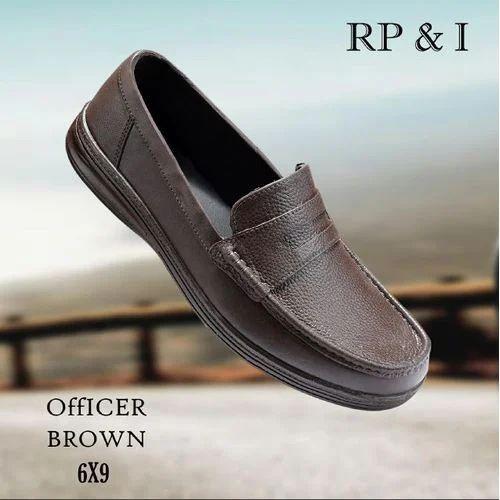 Kikkies Men Mens Brown Office Shoes Rs