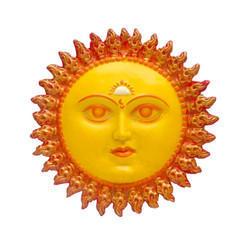 Lord Sun Face Wall Hanging