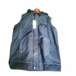 Mens Sleeveless Cotton Jacket
