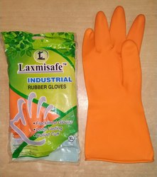 Laxmisafe Orange Hand Gloves
