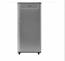 Gray Whirlpool Genius 190L Single Door 3 Star Refrigerator