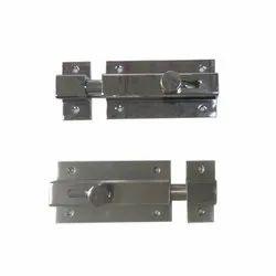 Mild Steel Door Latch Sliding Lock, Packaging Type: Box