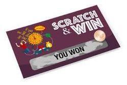 Scratch Coupon Card