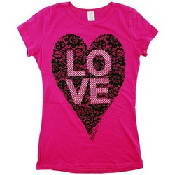 Pink Ladies Casual Wear T Shirt