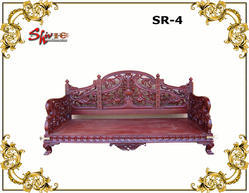 Wooden Swing Seater