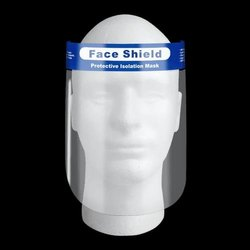 Covid Protection Pet Face Shield Without Lamination