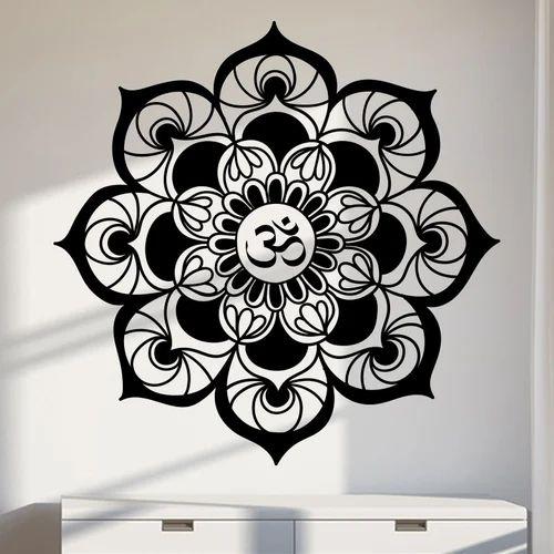 "kc arts 24"" x 24"" decorative om wall decal, rs 799 /square feet | id"