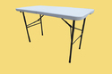 Dining Table Chairs Set - 120x60 Cm Table -Chair (Grey)