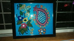 Wall Hanging With Frame