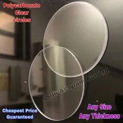 Polycarbonate Clear Circles