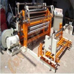 Unwinder Rewinder Machine With Web Guiding System