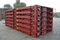 20' Used Flat Rack Container