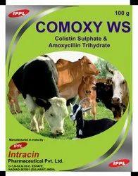 Colistin Sulphate/Amoxycillin Trihydrate Powder