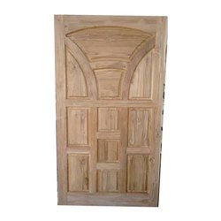 Teak Wood Interior Solid Wooden Door