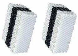 White Honeycomb PVC Fills