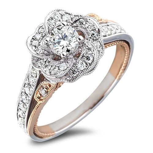 Forevermark Diamond Rings Cornerstone Pave Solitaire Ring by
