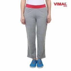 Cotton Full Length Ladies Yoga Track Pants