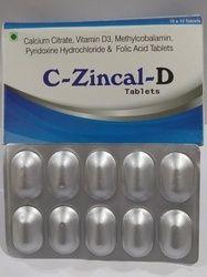 Calcium Citrate 1000 mg Vit D 3-200 IU Mecobalamin 750 mcg Pyridoxine 10 mg Folic 5 mg