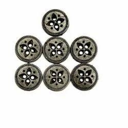 Metal Fancy Garments Buttons, Size/Dimension: 10-16 Mm