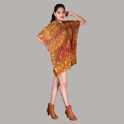 Vintage Silk Kaftan