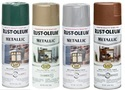 Rust Oleum Stops Rust Metallic Spray Paint