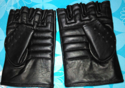 Leather Gloves (Half)