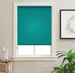 42 X 84 Inch Polyester Blend Non-Blackout Roller Blinds