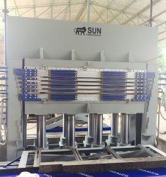 640 Ton Plywood Hot Press Machine
