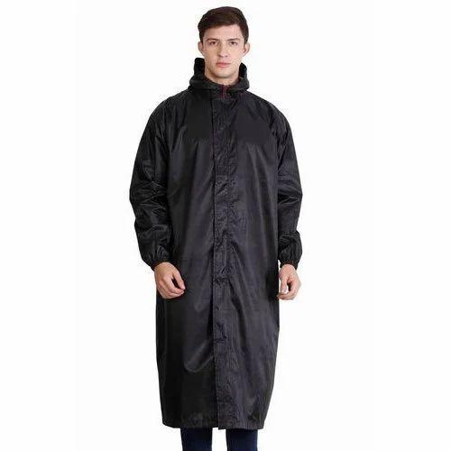 Polyester Black Boys Rain Coat, Rs 500 /piece Girish Creations   ID:  16504511455