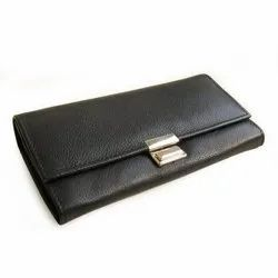 New Ladies Leather Clutch Purse