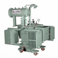 Three Phase 160 - 2500 Kva Oil Cooled Distribution Transformer, Output Voltage: 433 V