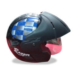 Male Mens Open Face Helmets, for Driving