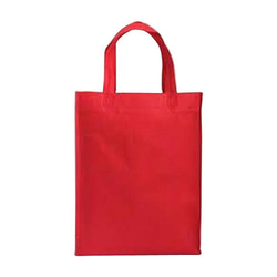 Red Loop Handle Non Woven Bag