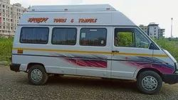 14 Seater Tempo Traveler, Music System