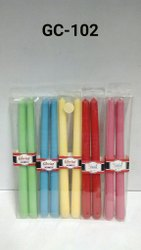GC-102 Taper Candles 2 Pc. / Pkt