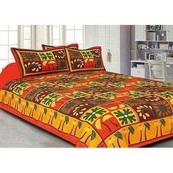 Kantha Work Bed Sheet