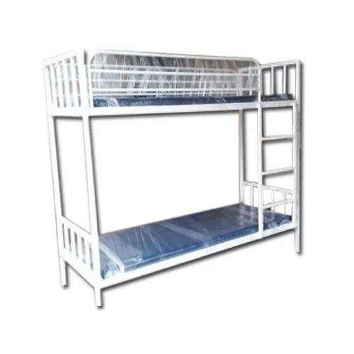 Mild Steel Hospital Bunk Bed, Without Box, for Hostel