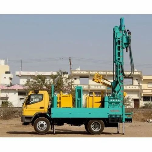 Pick Up Van Mounted Hydraulic Powered Drilling Rig, Usage/Application: Petroleum
