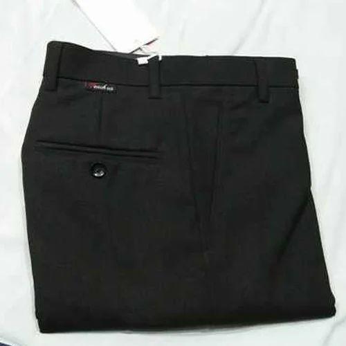 b2d7c7fc5bb Mens Cotton Black Pant