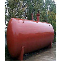Horizontal Oil Storage Tank